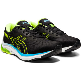 asics Gel-Pulse 12 Sko Herrer, black/hazard green